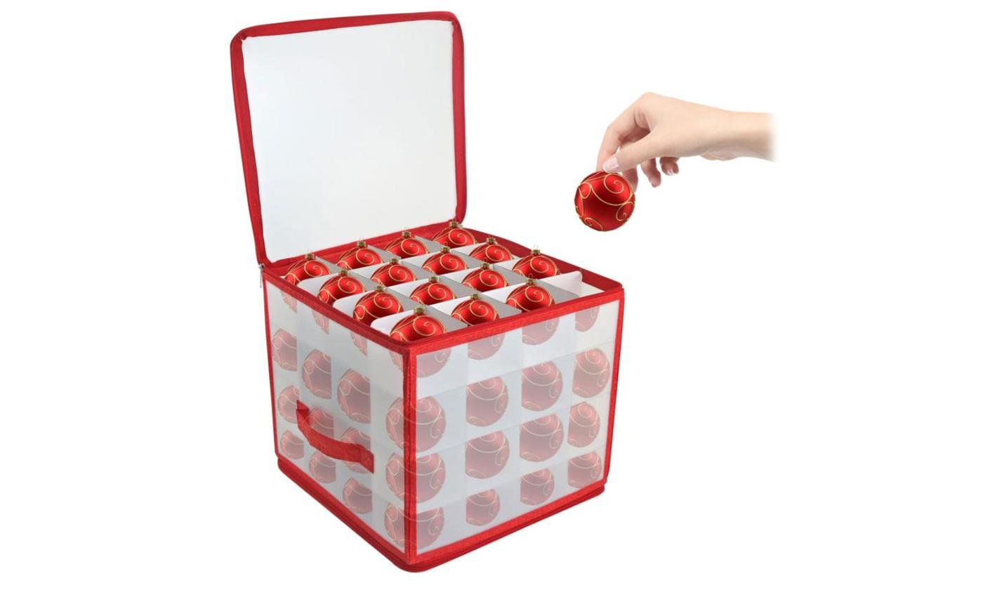 Christmas Bauble Storage Box for 64 Baubles from £8.99 (30% OFF)