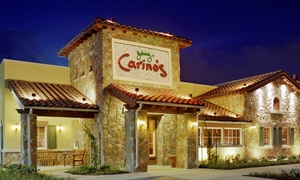 45% Off Italian Food at Johnny Carino's  at Johnny Carino's, plus 6.0% Cash Back from Ebates.