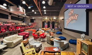 The New Parkway Theater: Movie for Two with Popcorn and Beer or Wine at The New Parkway Theater (Up to 55% Off). Two Options Available.