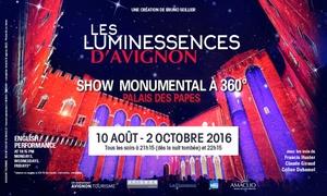 Amaclio: 1 place pour les Luminescences d'Avignon au Palais des Papes à 9 € au Palais des Papes