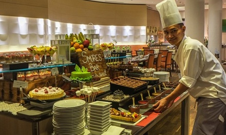 Themed Buffet with Free Flowing Beverages for Up to Four at The Fountain, 5* Movenpick Bur Dubai (Up to 54% Off)