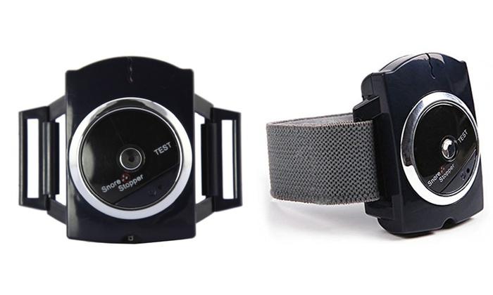 Infrared Biosensor Anti-Snore Wrist Band: Infrared Biosensor Anti-Snore Wrist Band