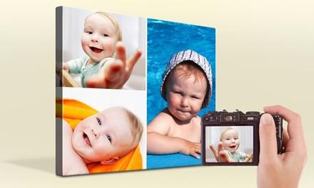 Tela collage personalizzata
