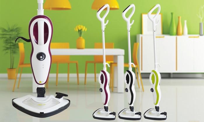 balai vapeur 10 en 1 clean 39 up spray int gr avec. Black Bedroom Furniture Sets. Home Design Ideas