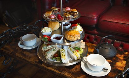 image for Afternoon Tea with an Optional Glass of Prosecco for Two at Coffee with Art (Up to 17% Off)