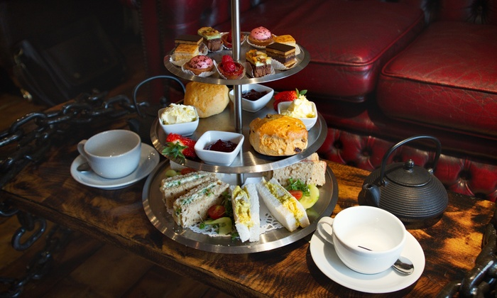 Coffee with Art - Bedford: Afternoon Tea with an Optional Glass of Prosecco for Two at Coffee with Art (Up to 17% Off)