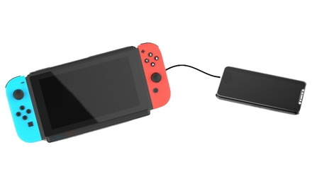 Estuche con batería S-Charge Kick Stand Bundle Edition para Nintendo Switch