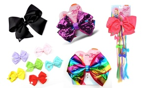 Jojo Siwa Bow (1-, 2-, or 6-Pack)