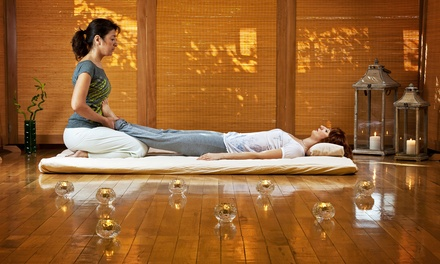 One 60- or 90-Minute Thai Yoga Massage at Ebb & Flow Massage (Up to 32% Off)