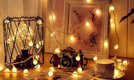 Stringhe con 52 luci LED