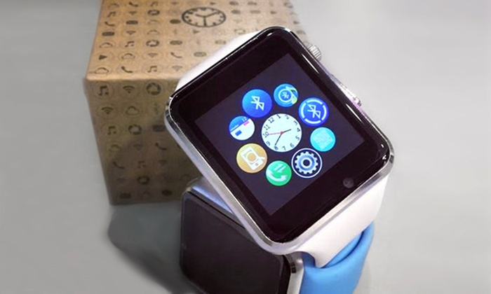 Bluetooth Smart Watch Or Headset Simple Mobile Groupon