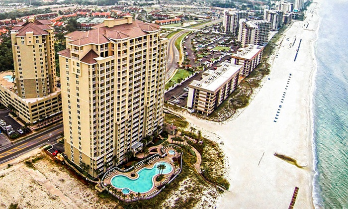 Grand Panama Beach Resort - Panama City Beach, FL: Stay for Up to 10 in a Beachfront Condo at Grand Panama Beach Resort in Panama City Beach, FL; Dates into February