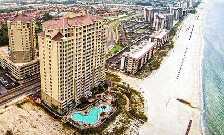Groupon Deal: Stay for Up to 10 in a Beachfront Condo at Grand Panama Beach Resort in Panama City Beach, FL; Dates into February