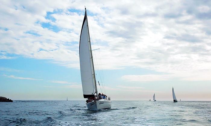 Marina Sailing Newport Beach - Newport Beach: Two Three-Hour Sailing Lessons for One or Two from Marina Sailing Newport Beach (Up to 59% Off)