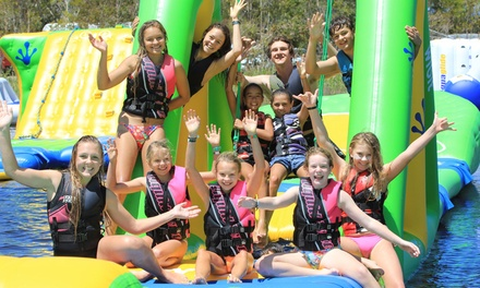 Coolum Aqua Park: One $12 or Two 50Minute Sessions $23, or AllDay Entry $35 for One Person Up to $55 Value