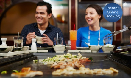 All You Can Eat Mongolian BBQ with Wine for 1 ($25) or 8 People ($185) at Khagan Mongolian Grill (Up to $263.52 Value)
