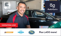 $5 for $40 towards a Basic or Logbook Service with AutoGuru - Min Spend $150