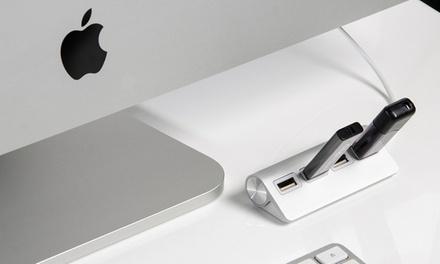 Hub USB Premium con 4 puertos USB, acabado en aluminio y cable blindado desde 6,99 € (hasta 80% de descuento)
