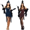 Women's Flapper Costumes in Standard and Plus Size