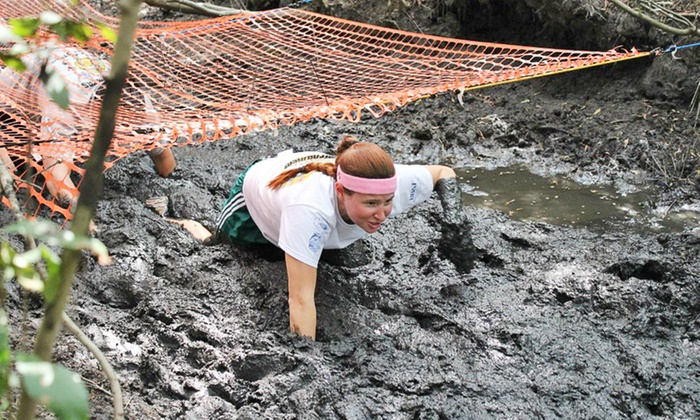 Mega Mud Run Challenge - Johns Island: Entry for One or a Four-Person Team to Mega Mud Run Challenge on Saturday, September 27 (Up to 58% Off)