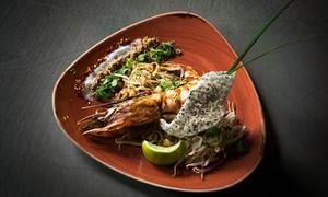 Thao Thai Seafood: Przystawka lub zupa z daniem głównym i więcej dla 2 osób za 139 zł w restauracji Thao Thai Fusion w Gdańsku
