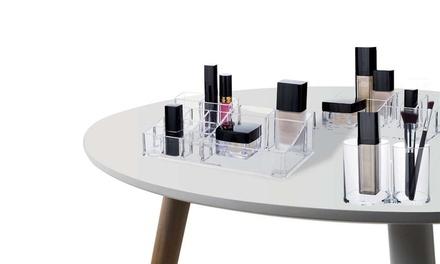 Set de maquillage Compactor, 3 tailles différentes et 24 compartiments au total