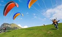 Kompletter5 tägiger Paragliding-Grundkurs mit Leihausrüstung bei der Gleitschirmschule Tegernsee (bis zu 36% sparen*).