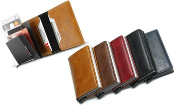 RFID-Blocking Card Holder Wallet
