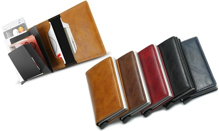 RFIDBlocking Card Holder Wallet: One $14.95 or Two $24.95