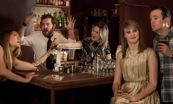 """Bye Bye Liver: The Chicago Drinking Play"" - The Pub Theatre: ""Bye Bye Liver: The Chicago Drinking Play"" at The Public House Theatre on July 10–August 29 (Up to 50% Off)"