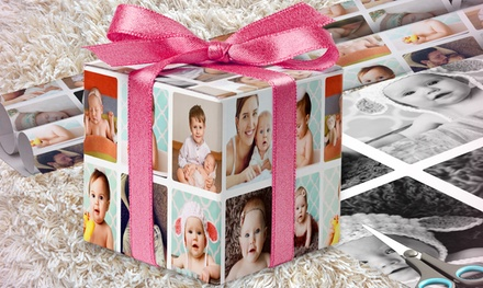 Personalised Wrapping Paper: 6Ft Roll $9.95 or 18Ft Roll $19.95 Don't Pay up to $89.95