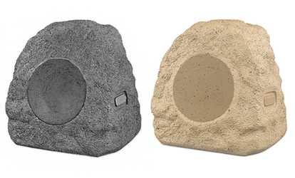 Shop Groupon Innovative Technology Waterproof Outdoor Rock Bluetooth  Speakers