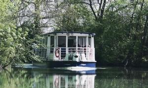 """Gascogne Navigation: Croisière """"déjeuner"""" de 2h15 pour 2 personnes à 79,99 €avec Gascogne Navigation"""