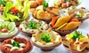 Layali Beyrouth - Lyon: Menu au choix pour 2 personnes, sur place ou à emporter dès 25 € au restaurant Layali Beyrouth