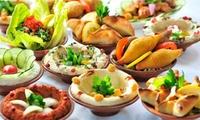 Menu au choix pour 2 personnes, sur place ou à emporter dès 25 € au restaurant Layali Beyrouth