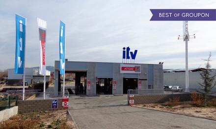 ITV con tasas incluidas para vehículos gasolina y motocicletas o vehículos diésel desde 29,95 € en Atisae ITV Villalba