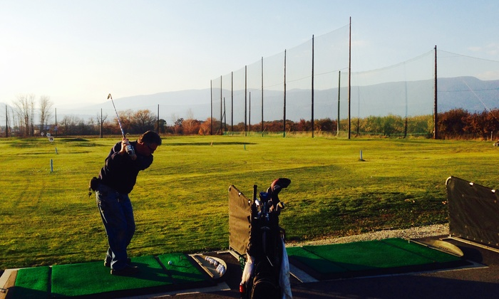 The Golf Centre - Munson: 5, 10, or 25 Range-Ball Buckets at The Golf Centre (Up to 43% Off)
