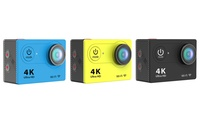 iPM 4K Ultra HD 12MP Action Camera with WiFi and Waterproof Case - Multiple colors