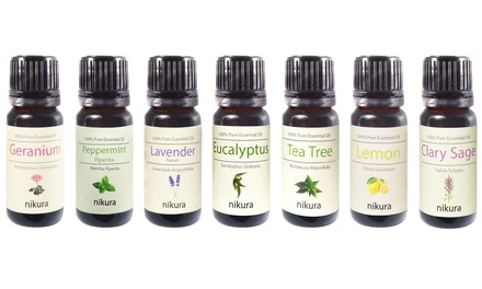 Five or Seven Essential Scented Oils