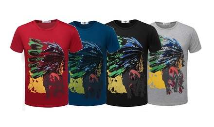 Men's Two-Pack Tribal T-Shirts