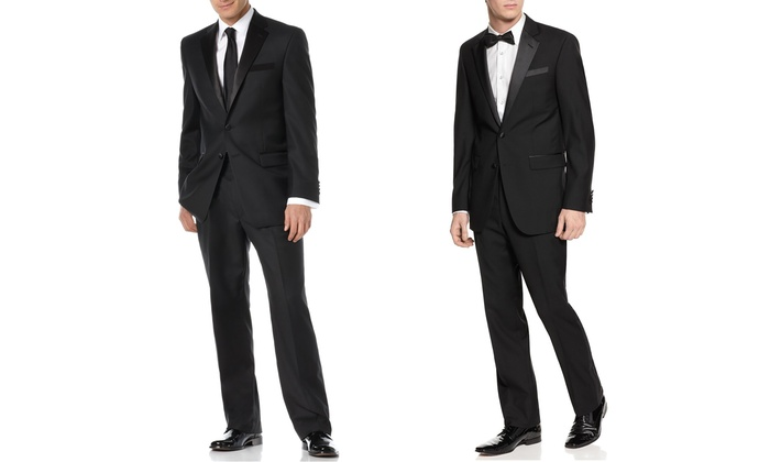 Fellini Men's Slim or Classic Fit Two-Piece Tuxedos