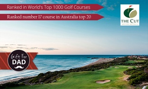The Cut Golf Club: 18 Holes of Golf + Cart Hire + $25 Credit per Duo for Two ($119) or Four ($235) at The Cut Golf Club (Up to $446 Value)
