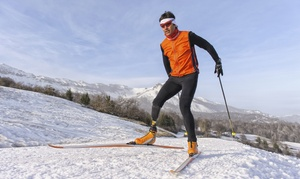 Pineridge Cross-Country Ski Area: Cross-Country Skiing Package or Snowshoe Rental for Two at Pineridge Cross-Country Ski Area (Up to 50% Off)