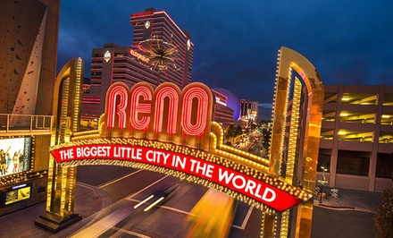 Stay with Dining Credit at Eldorado Casino in Reno; Dates into April Available