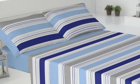 Juego de sábanas de 3 piezas estampadas
