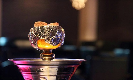 $18 for Hookah Outing with Tapas and Tea for Up to Four at Luna Lounge ($36 Value)