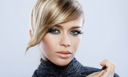 image for Half Head of Highlights or a Full Head Colour With Trim and Finish at HAIR by Fatosh Kalan (70% Off)