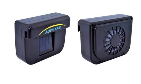Ventilador solar para el coche