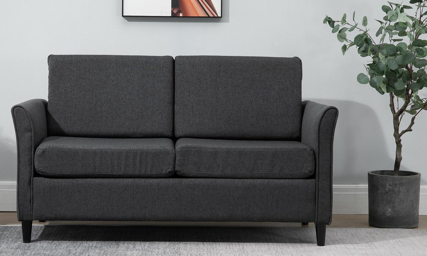 HomCom Two-Seater Sofa