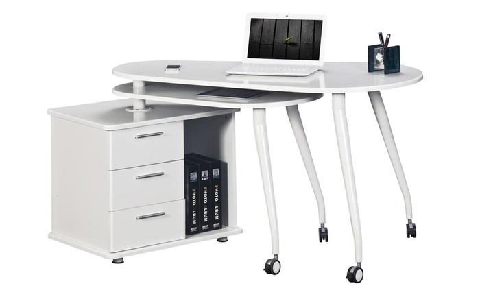 Techni mobili computer desk groupon goods for Mobili groupon